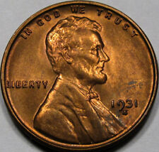 1931-S Lincoln Cent Superb GEM BU+ RED... a Real BLAZER!!! Awesome Key Date!!