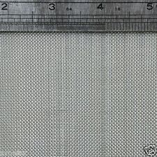 "Stainless Steel  Woven Wire Mesh 30 mesh 6"" x 6"" Type 304 (filter grading sheet)"