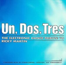 BRAND NEW Un, Dos, Tres: The Electronic Dance Tribute to Ricky Martin CD
