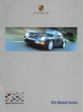 Porsche 911 Approved Used Cars Specification Changes 1993-2000 UK Brochure