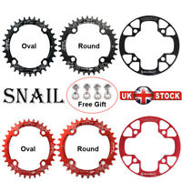 32-42T 104BCD Single Speed Chain Round/Oval MTB Road Bike Chainring Chainset