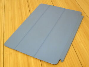 Original Authentic Apple iPad AIir 1 or 2 Smart Cover Blue - MGTQ2ZM/A