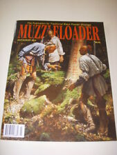 MUZZLELOADER Magazine, JULY/AUGUST 2012, SHOOTING THE 20 GAUGE CANOE GUN!