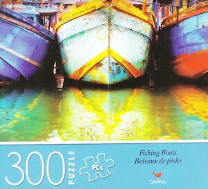 NEW Cardinal 300 Piece Jigsaw Puzzle ~ Fishing Boats