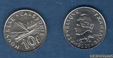 Nouvelle Calédonie - 10 Franc I.E.O.M. 2003 SUP - New Caledonia