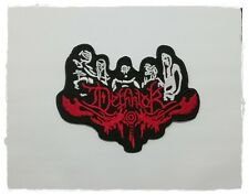 Dethklok Patch Sew Embroidered Iron on Music Free Shipping Rock Band Heavy Metal
