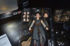 S.H. FIGUARTS Star Wars The Last Jedi REY Figure With Original Packaging