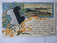 Ansichtskarte Metz 1910 Künstlerkarte