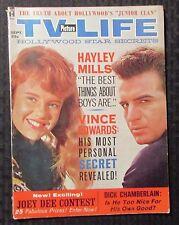 1962 Sept TV PICTURE LIFE Magazine VG 4.0 Vince Edwards - Hayley Mills