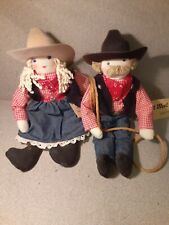 Out west couple dolls
