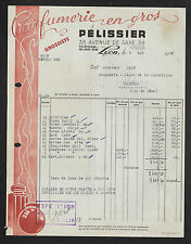 "LYON (69) PARFUMERIE en gros / PARFUM ""PELISSIER"" en 1948"