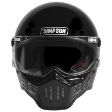 Simpson M30 Helmet - Gloss Black (Size L) - FREE SHIPPING (USA)!