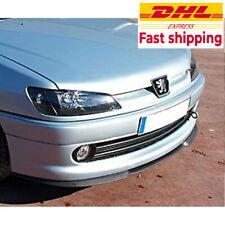 For PEUGEOT 306 CUPRA R FRONT SPOILER BUMPER LIP Euro Spoiler Lip Universal 3pcs