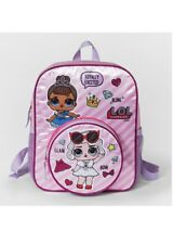 NWT LOL Surprise ! Pink Purple White Kids Girls Mini Backpack