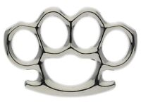 Fighting Silver Knuckles 1 1/2 inch Hat Or Lapel Pin IVANP452 F3D19S