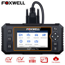All System Diagnostic Tool Oil EPB Reset OBD2 Code Reader Scanner Foxwell NT624