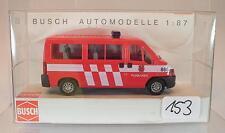Busch 1/87 47377 Peugeot Boxer Feuerwehr Pijnacker Niederlande Holland OVP #153