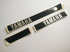 Set Yamaha RX100 RX125 RS100 RS125 DX Emblem Decal Side Engine Cover Flat Model