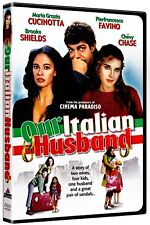 NEW DVD - OUR ITALIAN HUSBAND - Brooke Shields, Chevy Chase, Diego Serrano,