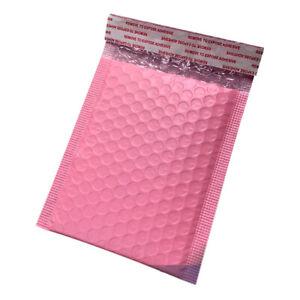 50stk Rosa Blase Tasche Mailer Gepolstert Briefumschlag Versand Bag Packaging