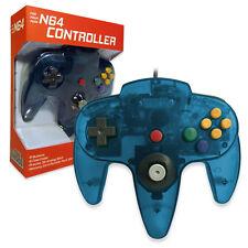 Nintendo 64 CONTROLLER TURQUOISE  N64 *OLD SKOOL* New In Box!!