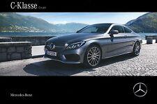Mercedes C Class Coupe 12 / 2015 MY 2016 catalogue brochure