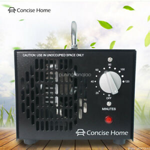 Concise Home 3500mg Commercial Ozone Generator Dual O3 Air Purifier Deodorizer