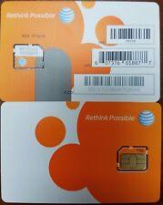 New At&T Repaid Go Phone 3G/4G Micro Sim Card