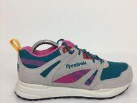 Reebok Hexalite Grey Suede Sports Sneaker Trainers Women Size UK 4.5 Eur 37.5