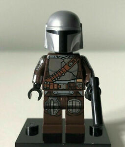 NEW LEGO Star Wars The Mandalorian Minifigure Beskar Armor (Din Djarin) 75299