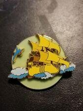 Disney Pin DCL Pirate Ship Tinkerbell Peter Pan Rescue Captain Mickey Glow Dark