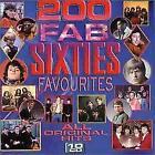 200 Fab 60s Favourites: ALL ORIGINAL HITS, Various Artists, VG Box set