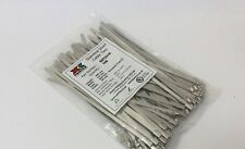 STAINLESS STEEL TIE WRAP 200 X 4.6MM UNCOATED PACK OF 100