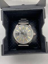 Diesel DZ-1762 Analog Wristwatch Stainless Steel Back Bracelet Links NEW NWT