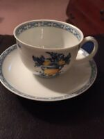 Vista Alegre Viana Tea Cup And Saucer Made In Portugal Beautiful EUC SET