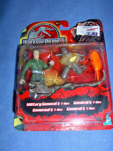 Jurassic Park III - Military General With T-Rex New IN Original Packaging