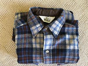 Woolrich 80% Wool Shirt Size Small