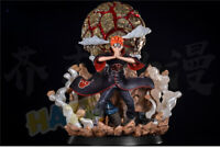 Naruto Akatsuki Pain Pein Painted PVC Figure Model with LED Light in Box Statue