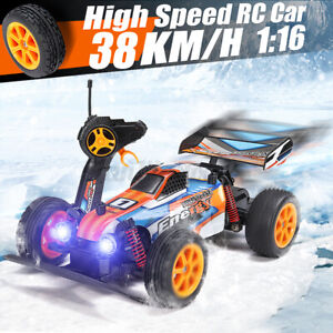 1/16 2.4G 2WD 38KM/H RC Electric Two Wheel Drive Off Road Vehicle Raci