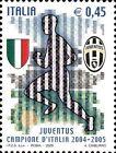 # ITALIA ITALY - 2005 - Juventus Winner - Calcio Football Soccer Sport Stamp MNH