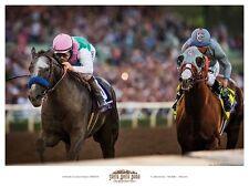 Arrogate California Chrome Poster Santa Anita Park Horse Racing Smith Baffert