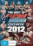 WWE - Best Of Raw Smackdown 2012 (DVD, 2013, 4-Disc Set) Region 4