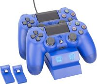 Venom PlayStation 4 DualShock 4 Controller Twin Charging Station - Blue - VS2738