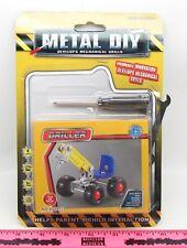 Metal Diy ~ Driller toy ~ Develops Mechanical Skills / Erector