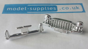 Spot On 165 Vauxhall Cresta PA Reproduction Chromed Front Grille Rear Bumper