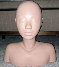 "15"" Marianna Massage Practice Esthetics Training Mannequin Head & Shoulders"