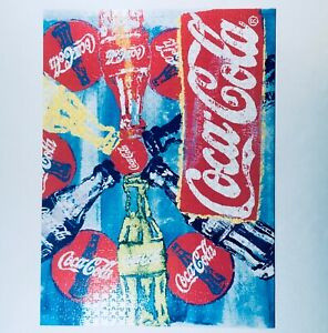 Collectible VERY GOOD Buffalo Games Coca-Cola, Pop Art - 1000pc Jigsaw Puzzle FS