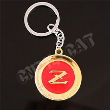 3D DATSUN Z Car Key Ring Keychain for NISSAN Fairlady Z33 Z34 350Z 370Z Gold&Red