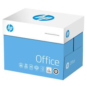 HP OFFICE A4 80GSM PRINTER PLAIN WHITE COPY PAPER (2500 SHEETS) - 1 BOX