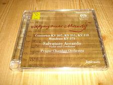 Audiophile Mozart Violin Concertos SALVATORE ACCARDO FONE SACD 056 NEW SEALED